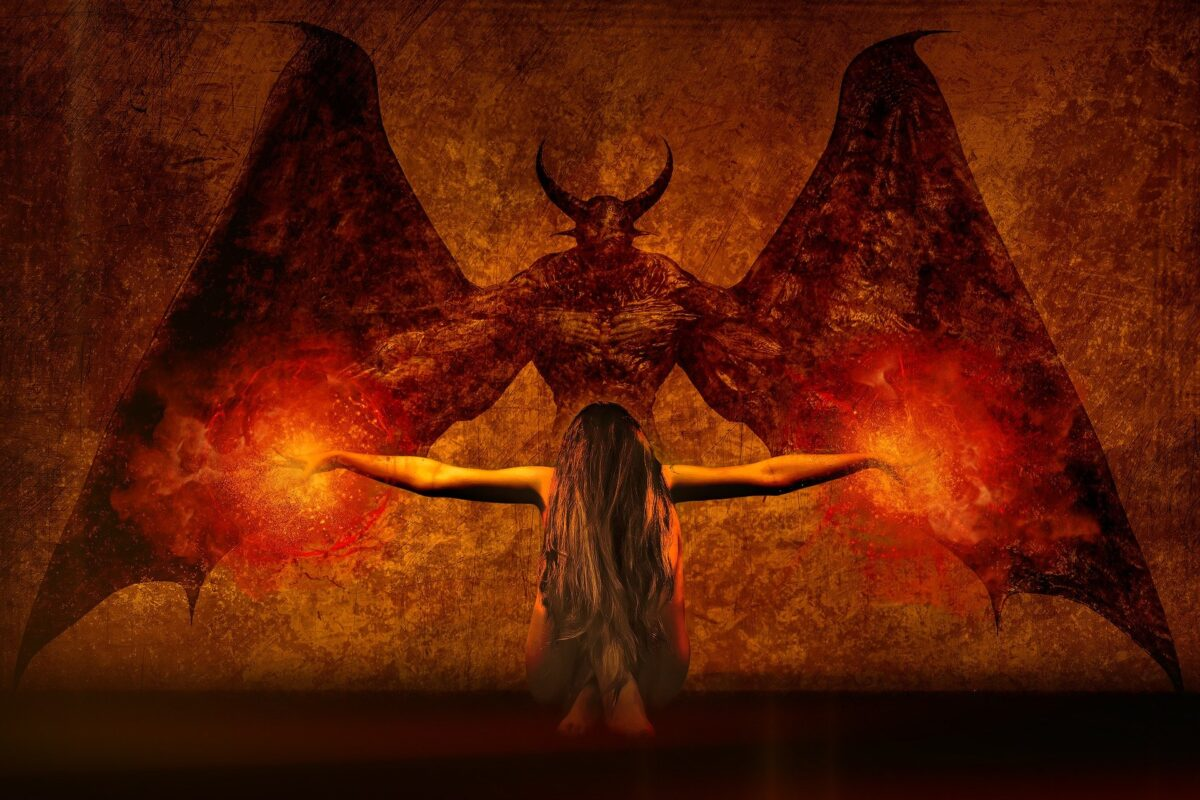 ¿Qué significa soñar con un demonio?