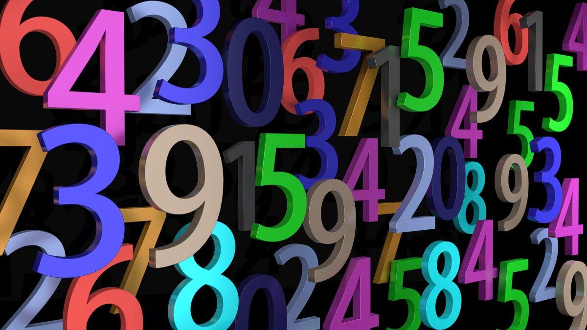 ¿Qué significa soñar con números?